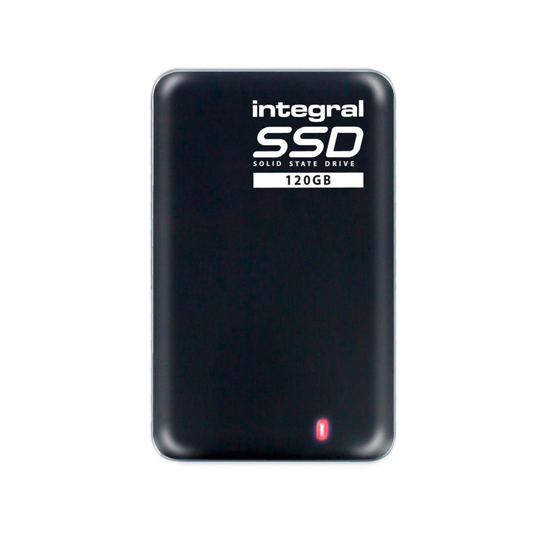 Integral 120GB USB 3.0 Portable SSD Drive - 400MB/s (2017 Model)