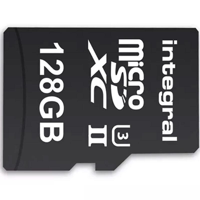 Integral 128GB UltimaPRO-X2 V60 Micro SD Card (SDXC)  UHS-II U3 - 280MB/s