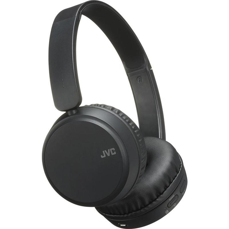 JVC Bluetooth Wireless Headphones (HA-S35BT) - Black