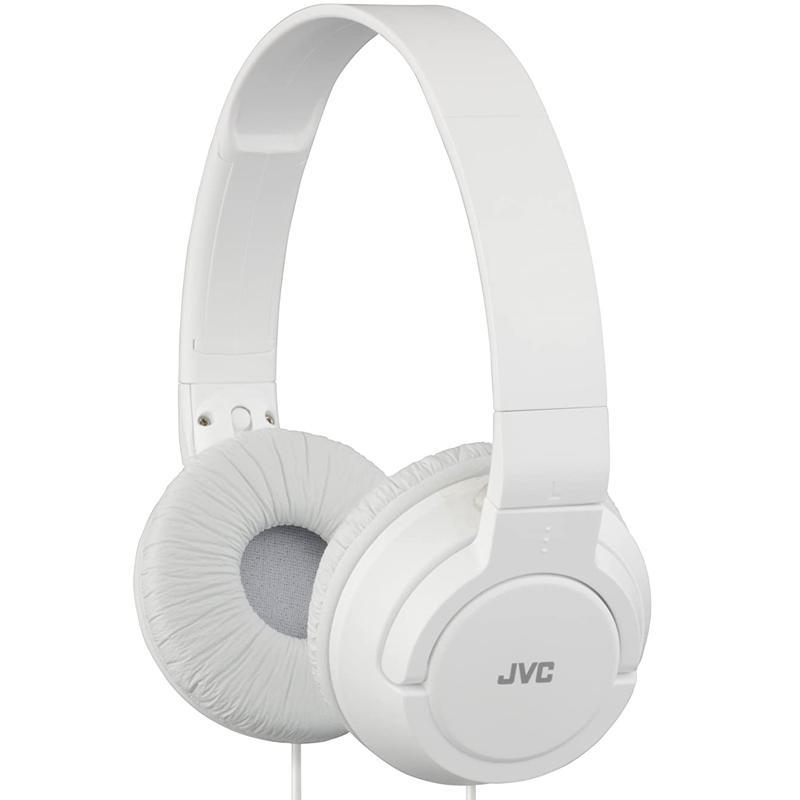 JVC Powerful Bass On-Ear Headphones - White