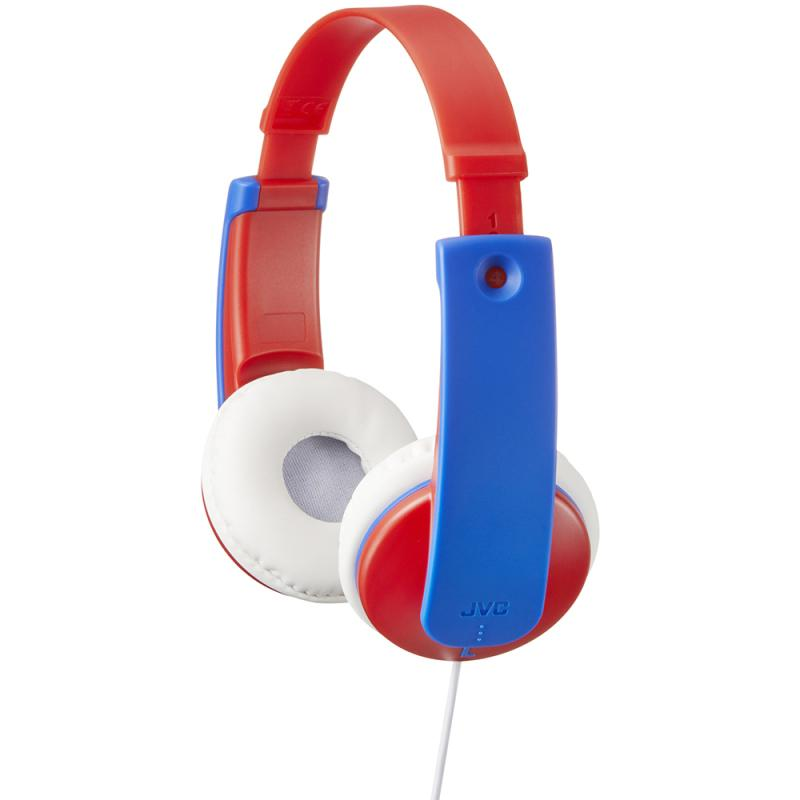 JVC Tiny Phones Kids Stereo Headphones - Red