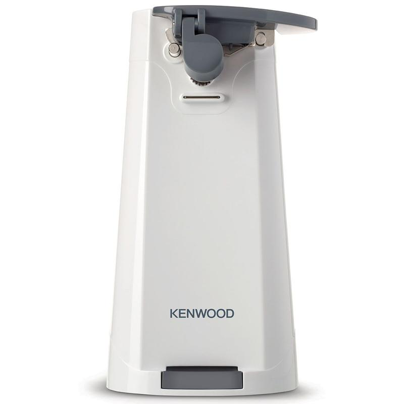 KENWOOD 3-in-1 Electric Can Bottle Opener Knife Sharpener - White