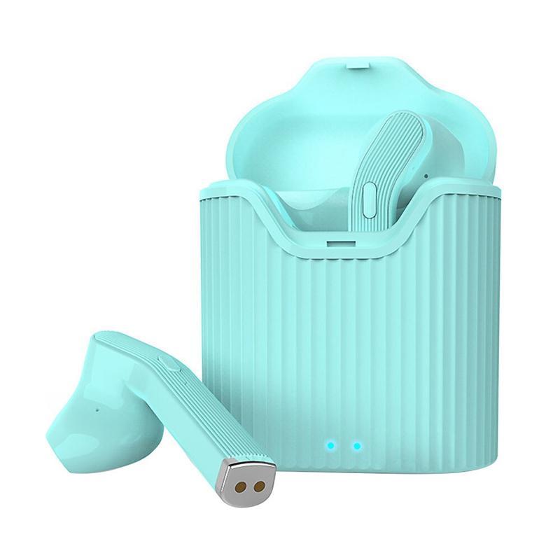 Musthavz Bluetooth TWS Earphones with Charging Case - Green