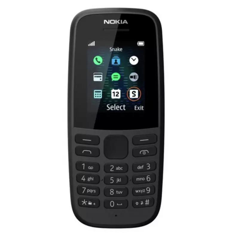 Nokia 105 Unlocked SIM Free Mobile Phone - Black