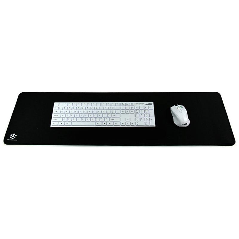 Large Extended Water-Resistant Computer Pad Mouse Mat - Black