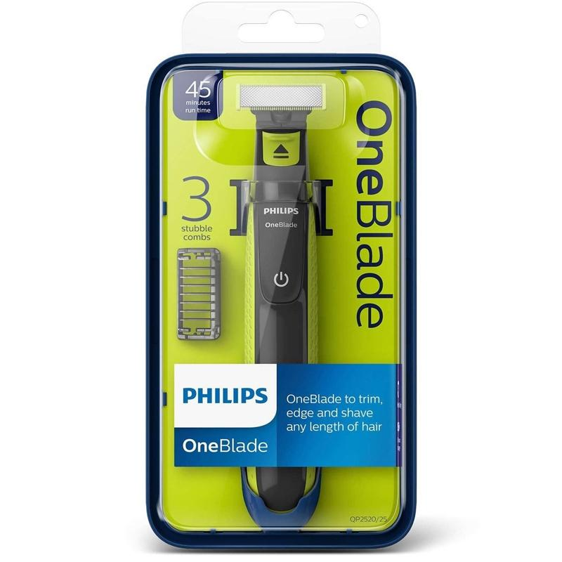Philips OneBlade Cordless Electric Face Hair Trimmer & Shaver (QP2520/25)