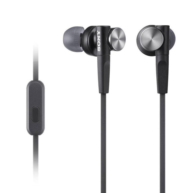 Sony MDR-XB50AP In-Ear Extra Bass Headphones - Black