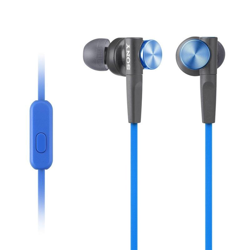 Sony MDR-XB50AP In-Ear Extra Bass Headphones - Blue