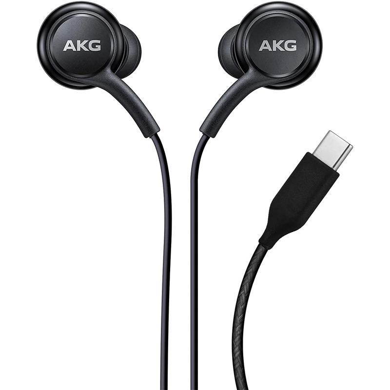 Samsung AKG USB Type-C Earphones (EO-IC100) - Black - FFP