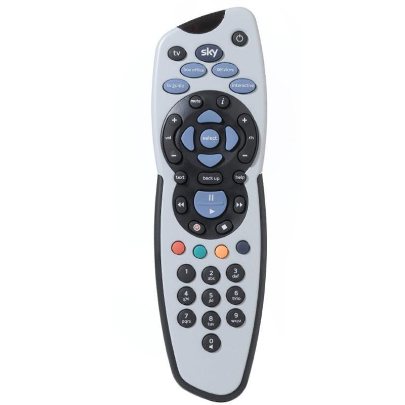 Sky Plus Remote Control - Grey