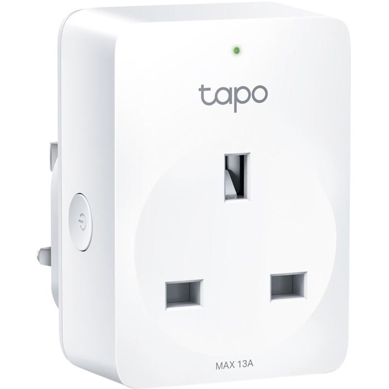 TP-Link Tapo P100 Smart Wi-Fi Plug - White
