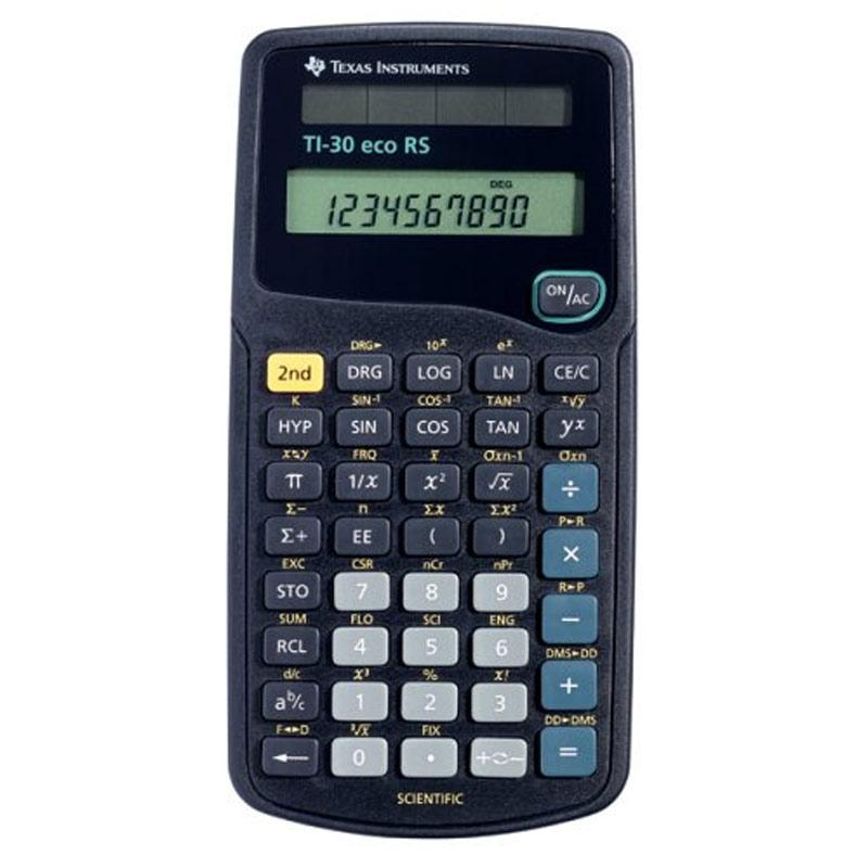 Texas Instruments Battery Powered Scientific Calculator (TI30ECORS)