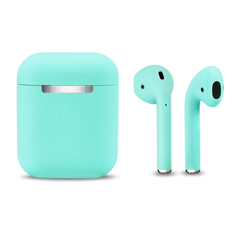 True Wireless Earphones Bluetooth 5.0 with Portable Charging Case - Turquoise