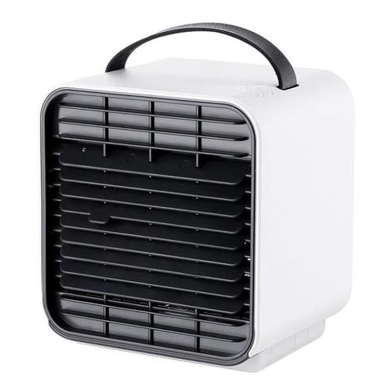 Portable USB Air Conditioning Unit & Night Lamp - White