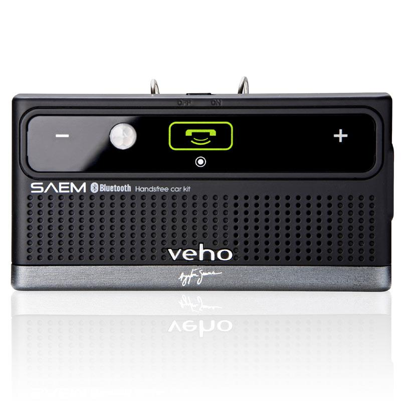 Veho SAEM S3 Ayrton Senna Collection Wireless Bluetooth Car Kit (VBC-002-AS)