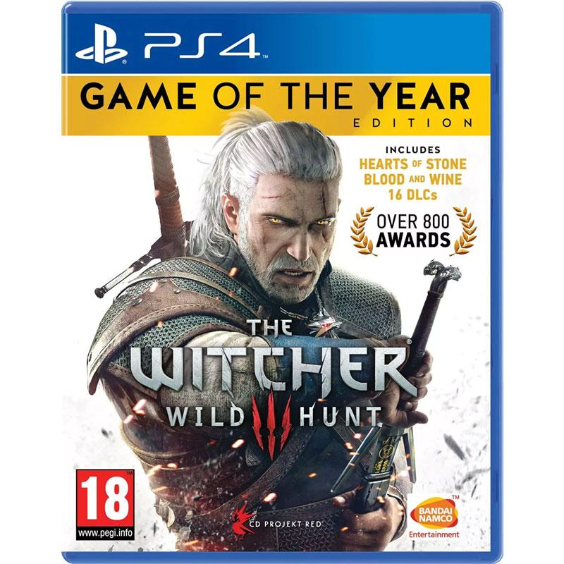 The Witcher 3 Game of the Year Edition (Sony PS4)