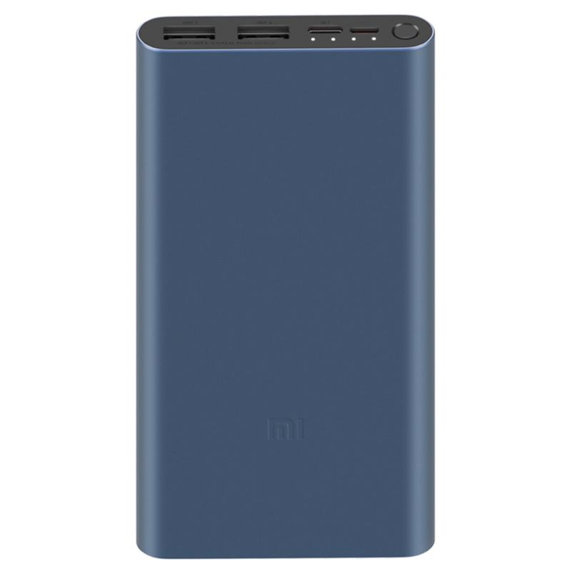 Xiaomi Mi 10000mAh 18W Power Bank 3 Fast Charge Input - Black