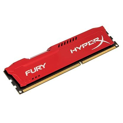 HyperX FURY 8GB (1x8GB) 1600MHz DDR3 240-Pin CL10 DIMM PC Memory Module