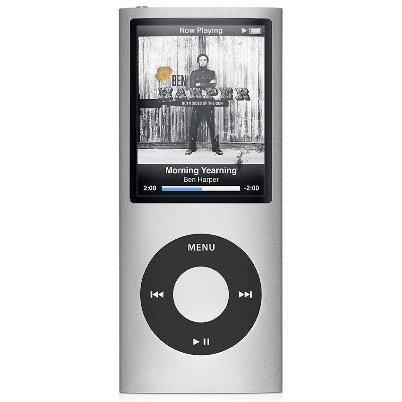 Portable MP3 Player iPod Style LCD MP4 Media FM Radio 32GB - Silver
