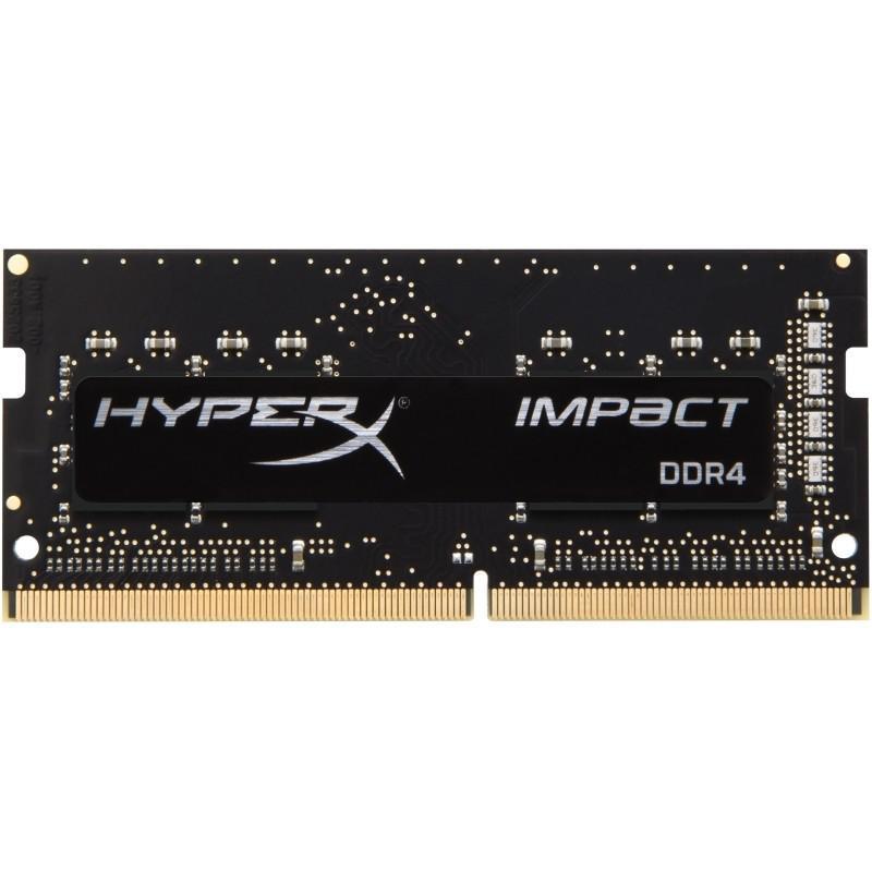 HyperX IMPACT 8GB (1x8GB) 3200MHz DDR4 Non-ECC 260-Pin CL20 SODIMM Laptop Memory Module