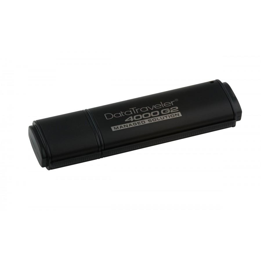 Kingston DataTraveler 4000 4GB Standard USB Flash Drive 256-bit Hardware Encryption