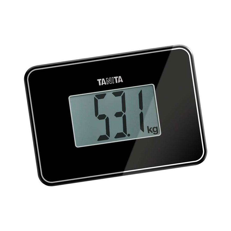 Tanita Super Compact Personal Scale - Black (HD 386)