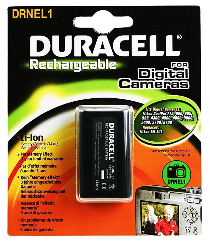 Duracell Nikon EN-EL1 Camera Battery