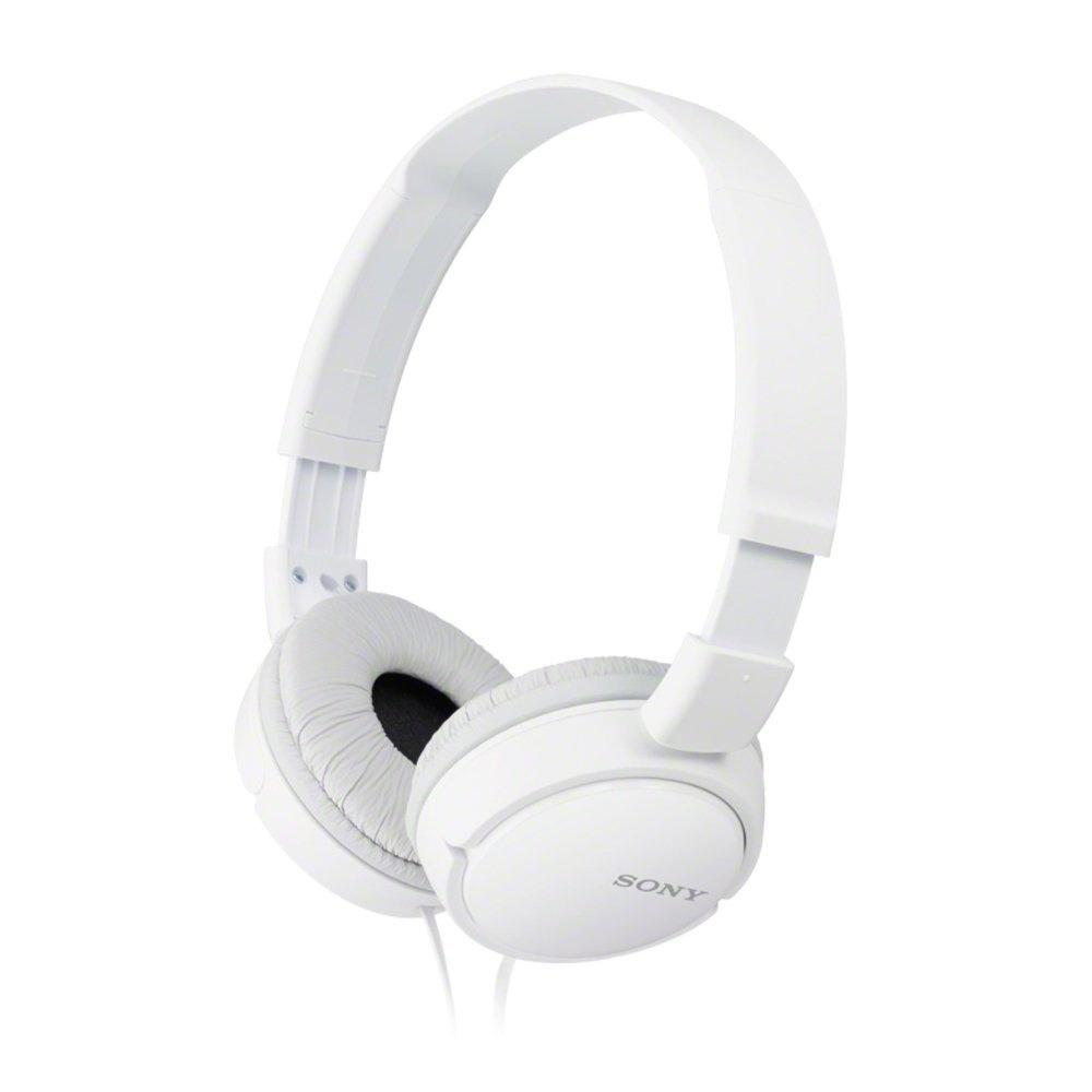 Sony MDR-ZX110 Overhead Headphones - White