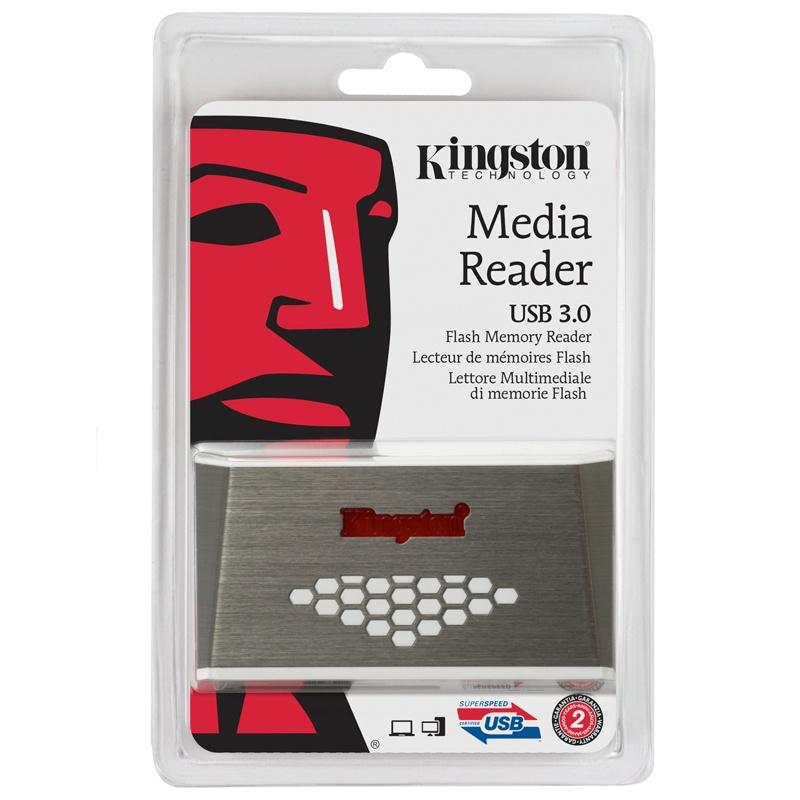 Kingston USB 3.0 High-Speed Card Reader - 5.0GB/s