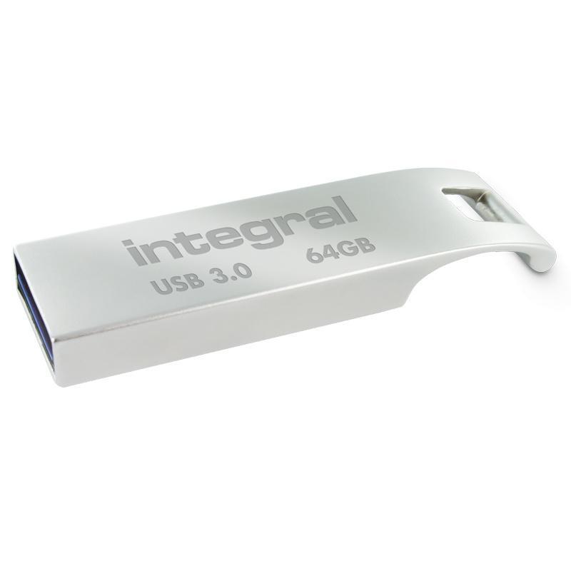Integral 64GB Metal ARC USB 3.0 Flash Drive - 110MB/s
