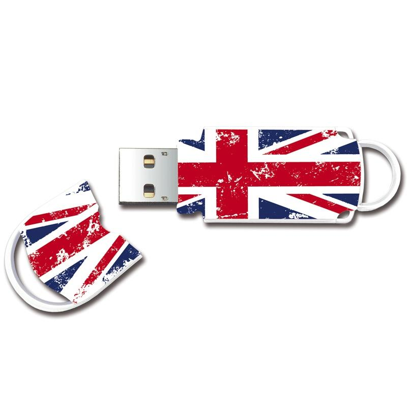 Integral 64GB Xpression USB Flash Drive - Union Jack