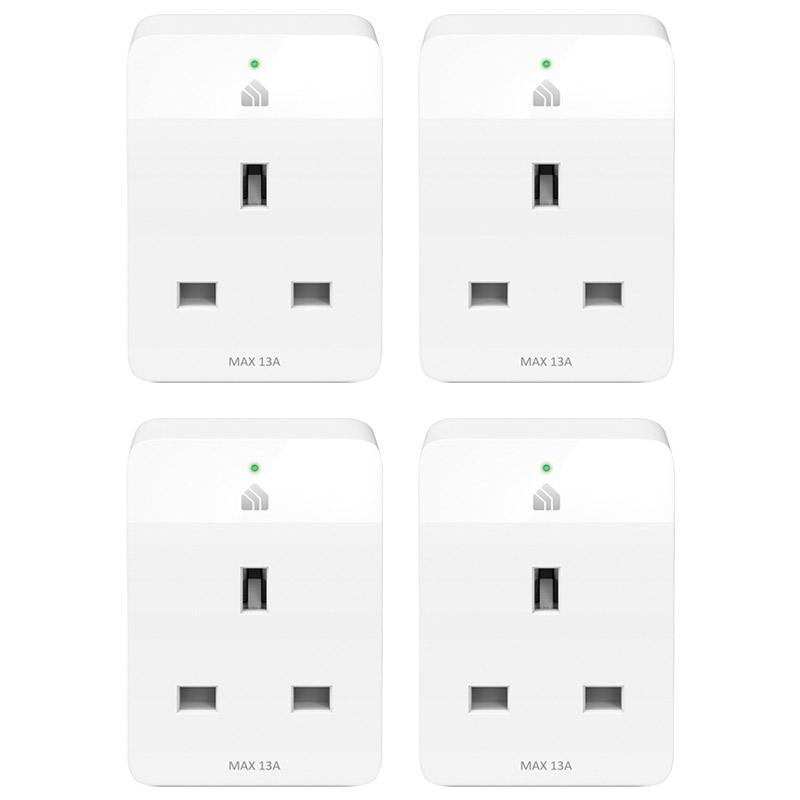 TP-Link Kasa Smart Wi-Fi Plug Slim - White (4 Pack)