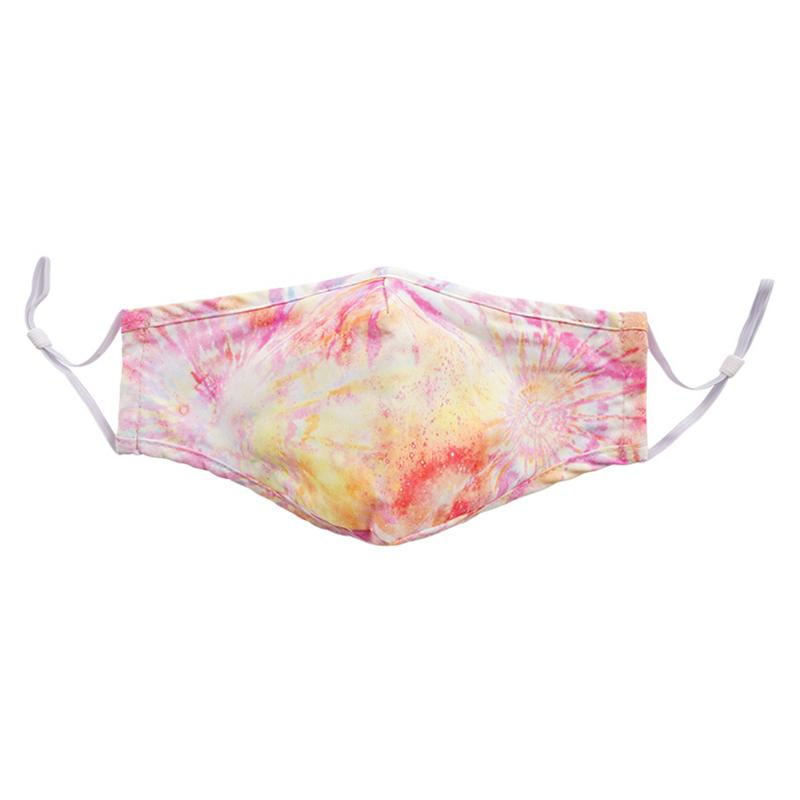 Washable Fashion Face Mask - Holds PM2.5 Filter - Tie-Dyed