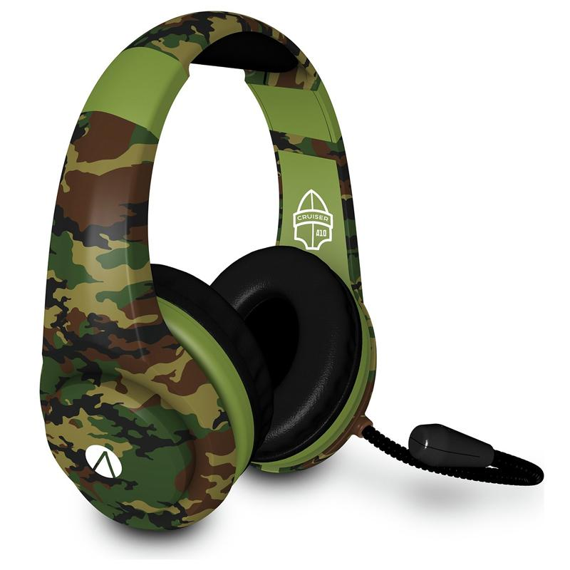 Stealth XP Cruiser Multiformat Gaming Headset - Woodland Camouflage