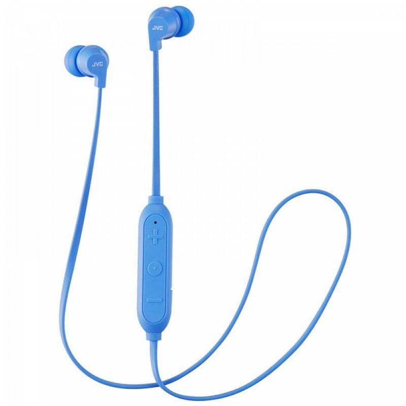 JVC Wireless Bluetooth Sports Headphones - Blue