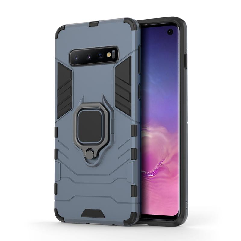 oneo ARMOUR Grip Samsung Galaxy S10 Protective Case - Navy Blue