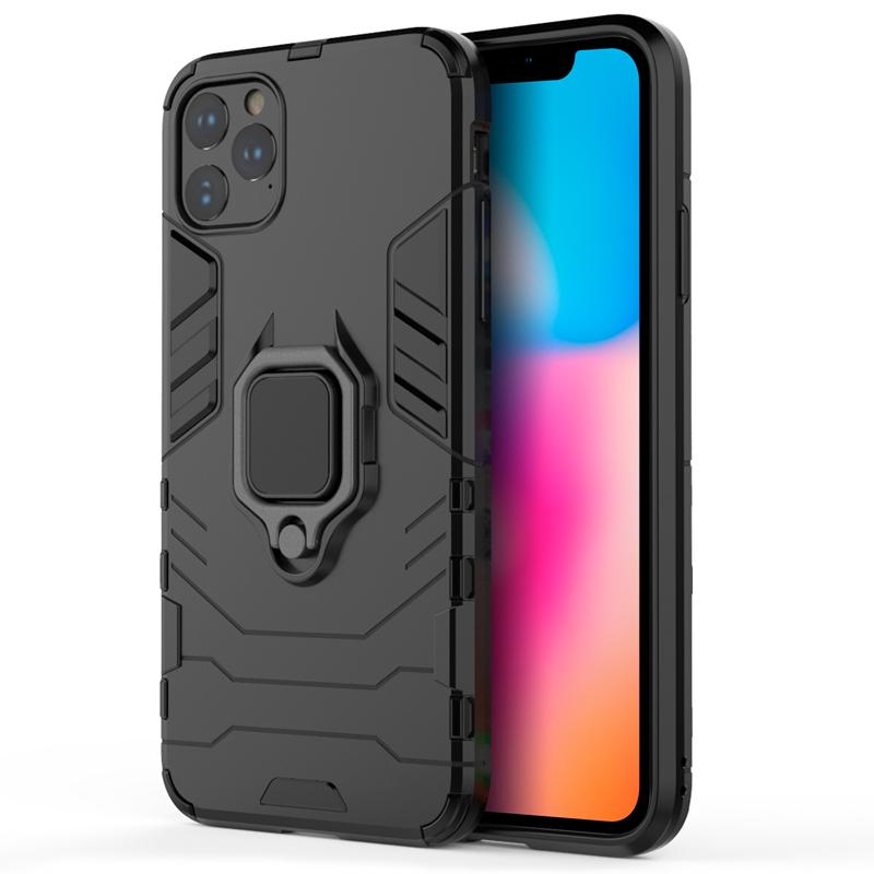 oneo ARMOUR Grip iPhone 11 Pro Max Protective Case - Black