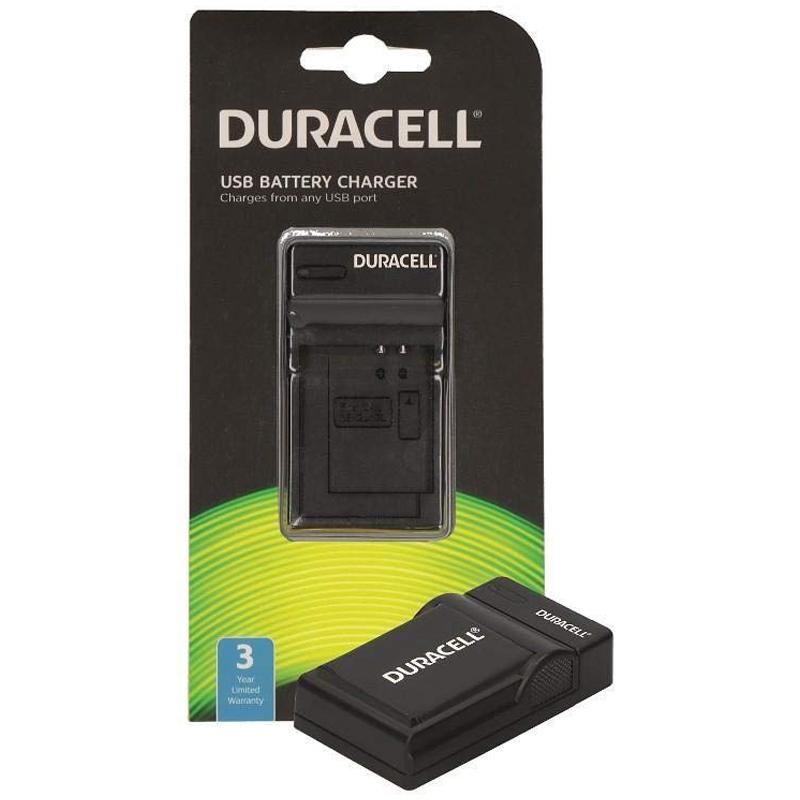 Duracell Digital Camera Battery Charger with USB Cable