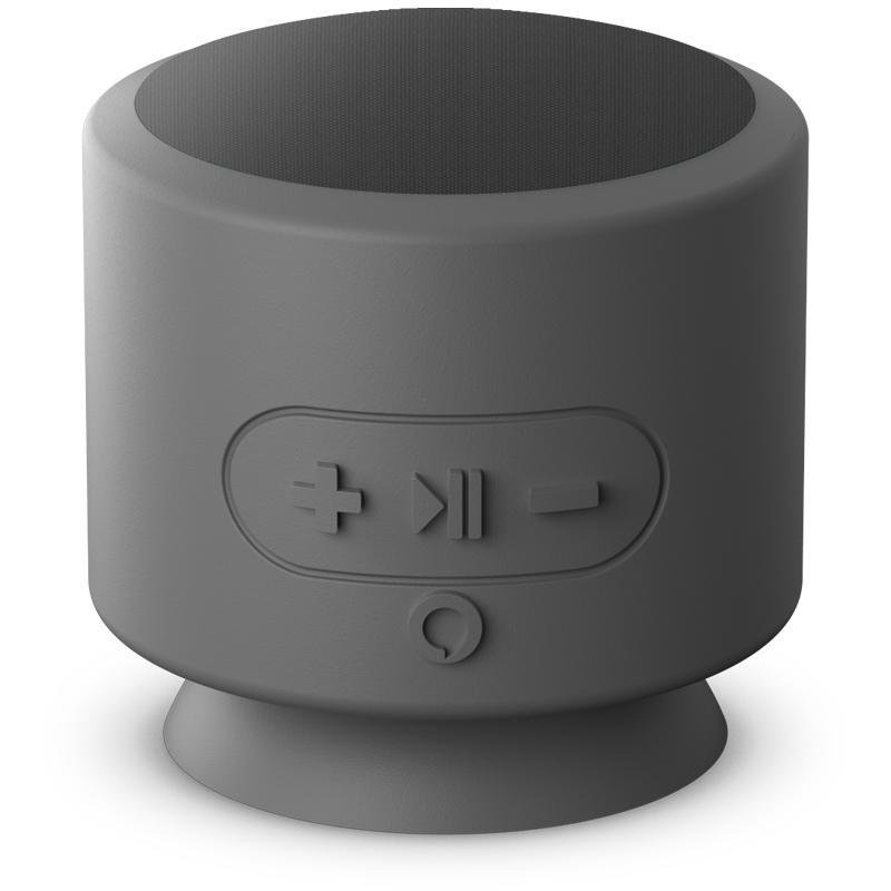 AddOn Apollo Alexa Enabled Wireless Bluetooth Speaker - Grey