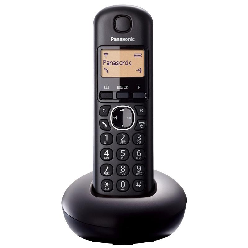 Panasonic Single Digital Cordless Telephone (KXTGB210EB)