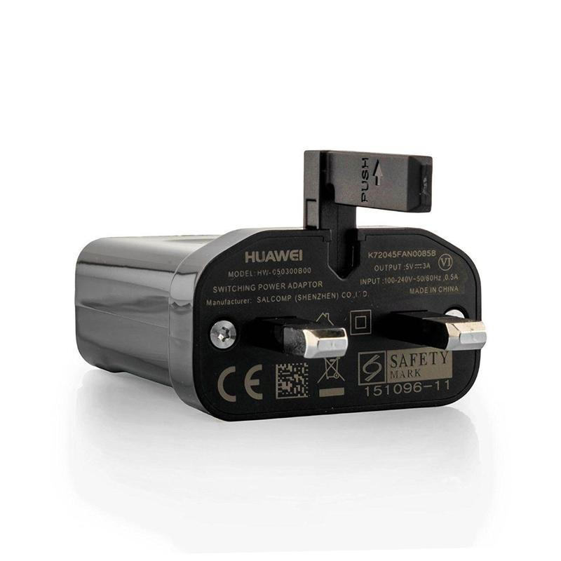 Huawei 3A USB Fast Mains Charging Adapter + USB-C Cable FFP