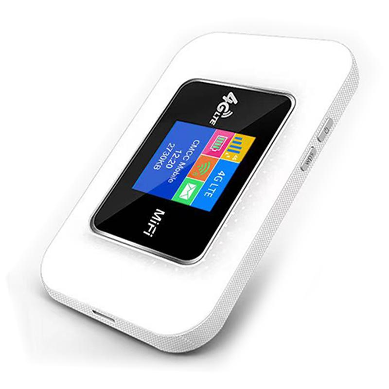 4G Unlocked Mobile WiFi Router - 150 Mbps - White