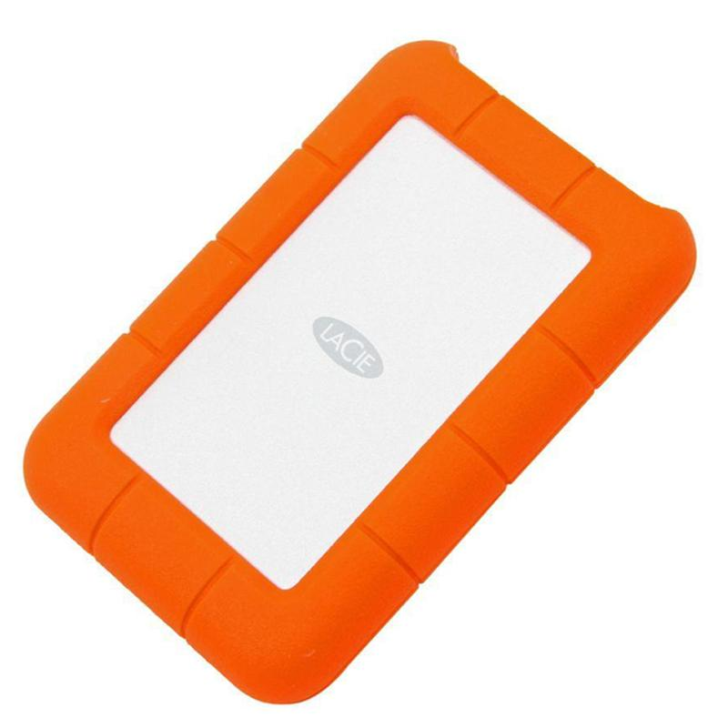 Lacie 1TB HDD Rugged Mini External HDD USB 3.0 - 130MB/s