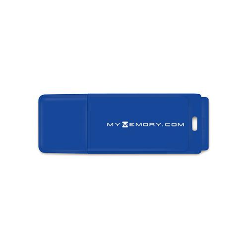 MyMemory 4GB USB Flash Drive - Blue