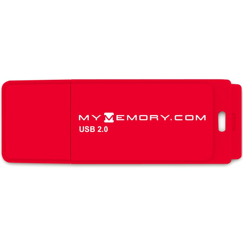 MyMemory 4GB USB Flash Drive - Red