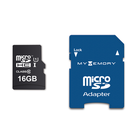 MyMemory LITE 16GB Micro SD Card (SDHC) UHS-1 U1 + Adapter - 80MB/s