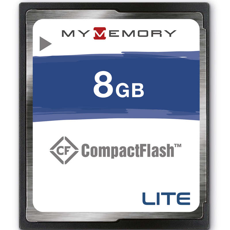MyMemory LITE 8GB Compact Flash Card