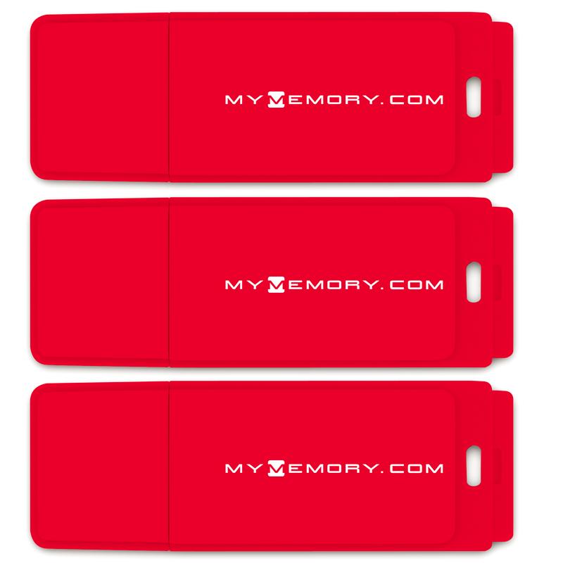 MyMemory PLUS 64GB USB 3.0 Flash Drive - 120MB/s - 3 Pack