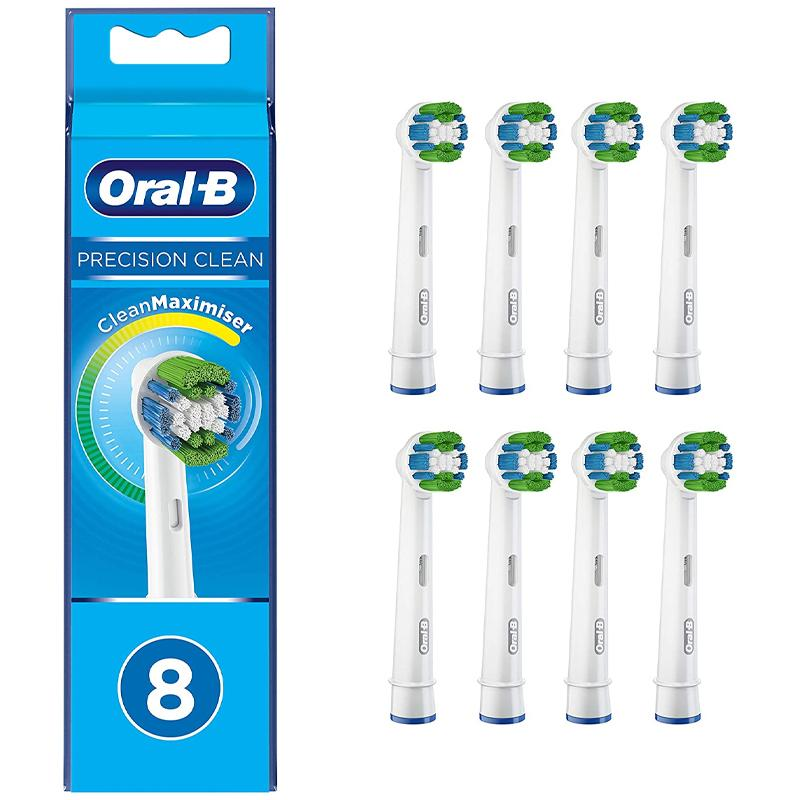 Oral-B Precision Clean Replacement Toothbrush Heads - Pack of 8