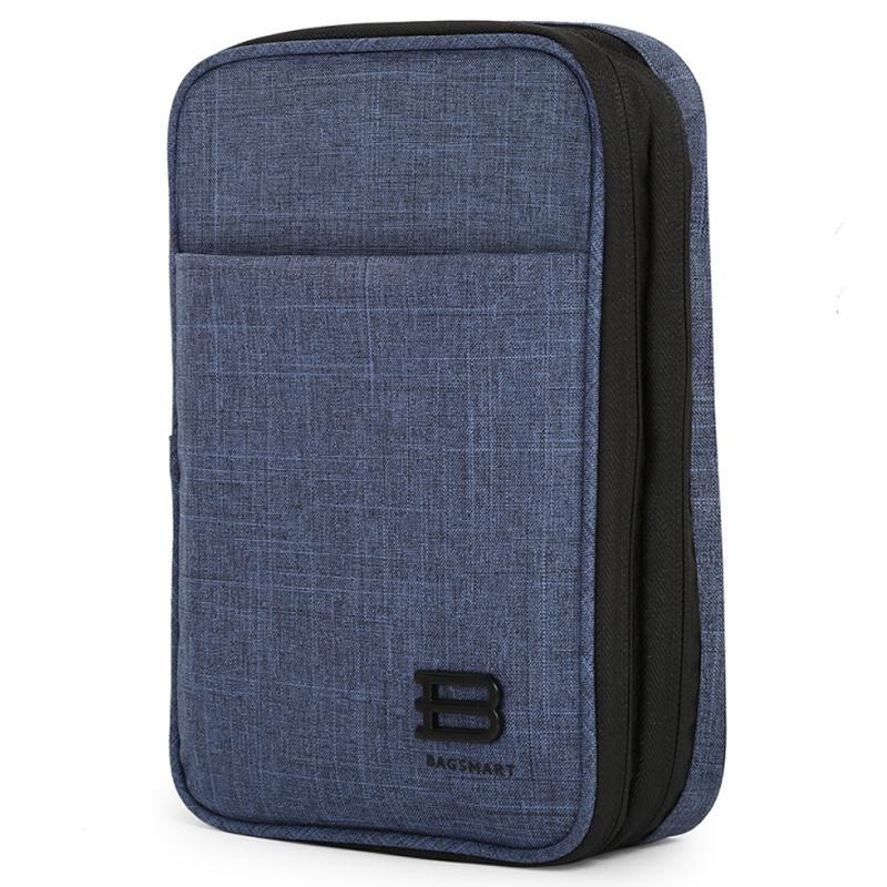 Bagsmart Belmont 2-Layer Organiser Bag - Navy